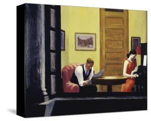 Room in New York, 1932 by Edward Hopper