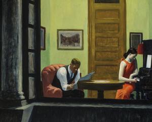 Room in New York by Edward Hopper