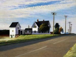 Route 6, Eastham by Edward Hopper