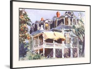 The Mansard Roof, c.1923 by Edward Hopper