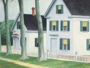 Two Puritans by Edward Hopper