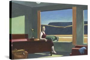 Western Motel, 1957 by Edward Hopper