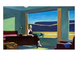 Western Motel by Edward Hopper