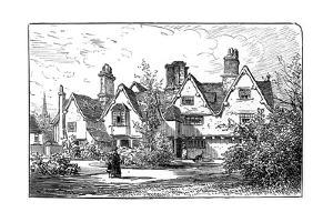 The House of Dr John Hall, Statford-Upon-Avon, Warwickshire, 1885 by Edward Hull