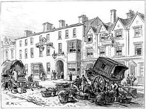 The Red House Hotel, Stratford-Upon-Avon, Warwickshire, 1885 by Edward Hull