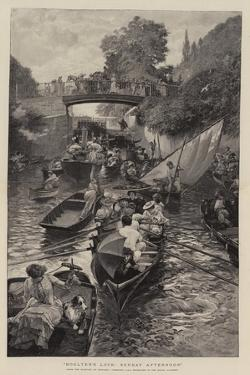 Boulter's Lock, Sunday Afternoon by Edward John Gregory