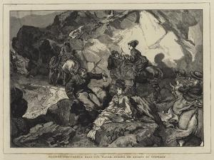 Holiday Sketches, a Halt for Water During an Ascent of Snowdon by Edward John Gregory