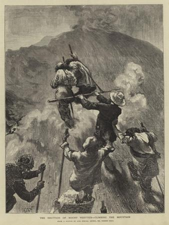 The Eruption of Mount Vesuvius, Climbing the Mountain