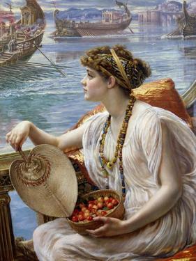 A Roman Boat Race by Edward John Poynter