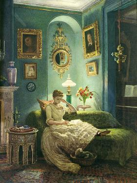 An Evening at Home, 1888 by Edward John Poynter