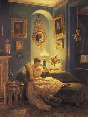 An Evening at Home by Edward John Poynter