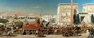 Israel in Egypt, 1867 by Edward John Poynter