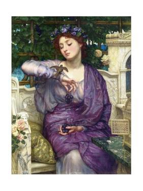 Lesbia and Her Sparrow by Edward John Poynter