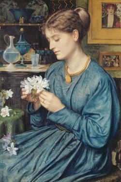 Portrait of Agnes Poynter, 1867 by Edward John Poynter