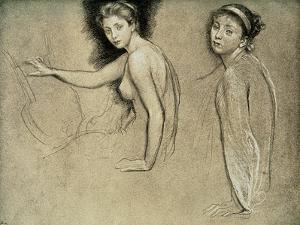Study, 1895 by Edward John Poynter