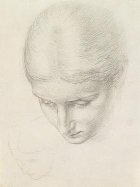 Study of a Woman. C.1868-71 (Pencil on Paper) by Edward John Poynter