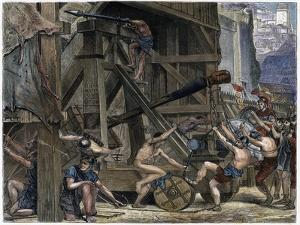 The Catapult, C1868 by Edward John Poynter