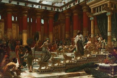The Visit of the Queen of Sheba to King Solomon, 1890