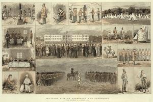 Military Life at Aldershot and Sandhurst by Edward Killingworth Johnson