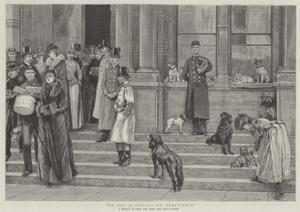 The Dog Question, No Admittance by Edward Killingworth Johnson