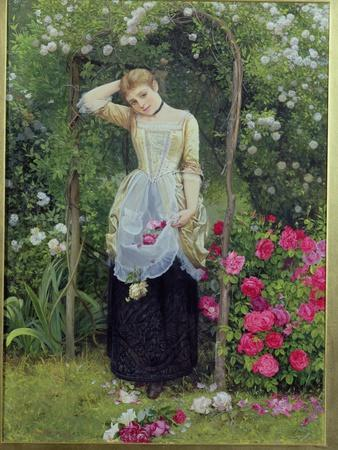 The Rose Bower, 1877