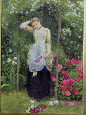 The Rose Bower, 1877 by Edward Killingworth Johnson