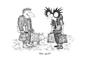 """New specs?"" - New Yorker Cartoon by Edward Koren"