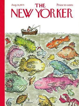 The New Yorker Cover - August 28, 1971