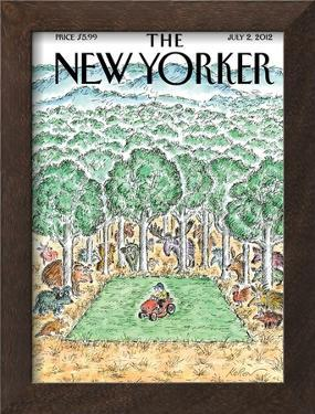 The New Yorker Cover - July 2, 2012 by Edward Koren