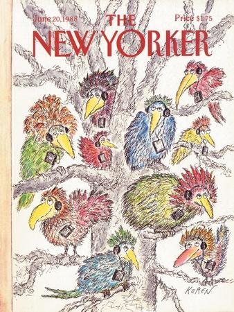 The New Yorker Cover - June 20, 1988