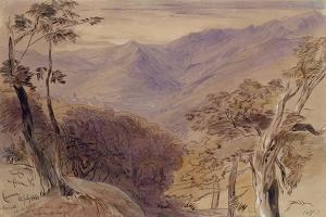 Carrara, 1861 by Edward Lear