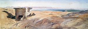 Dendera, 1867 by Edward Lear