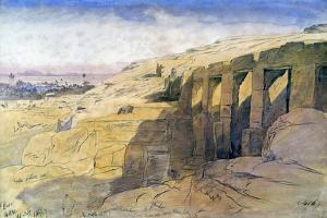 Derr, Egypt, 1867 by Edward Lear