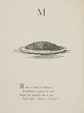 Dish Of Mince Illustrations and Verses From Nonsense Alphabets Drawn and Written by Edward Lear. by Edward Lear