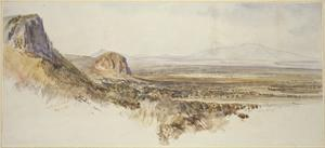 Distant View of Borghetto and Partenico by Edward Lear