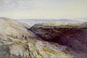 Jerusalem, 1865 by Edward Lear