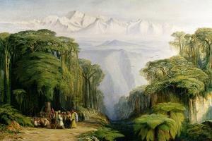 Kinchinjunga from Darjeeling, 1879 by Edward Lear