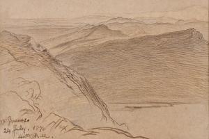 Monte Generoso, 1878 by Edward Lear