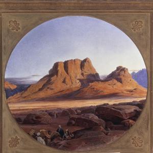 Mount Sinai, 1853 by Edward Lear