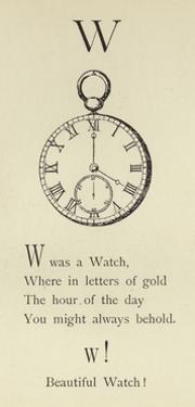 The Letter W by Edward Lear
