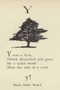 The Letter Y by Edward Lear