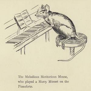 The Melodious Meritorious Mouse by Edward Lear