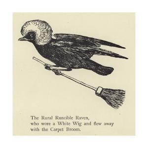 The Rural Runcible Raven by Edward Lear