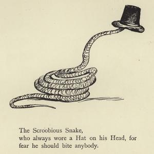The Scroobious Snake by Edward Lear
