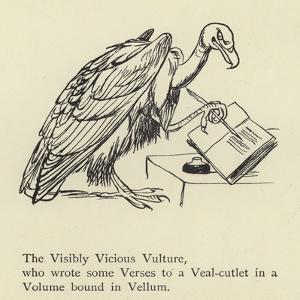 The Visibly Vicious Vulture by Edward Lear