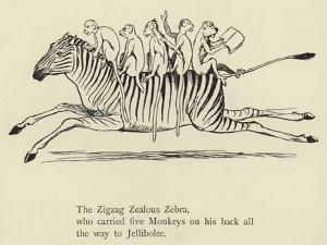 The Zigzag Zealous Zebra by Edward Lear
