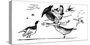 There Was A Young Lady Whose Bonnet, Came Untied When The Birds Sate Upon I by Edward Lear