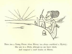 There Was a Young Person, Whose History Was Always Considered a Mystery by Edward Lear