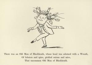There Was an Old Man of Blackheath, Whose Head Was Adorned with a Wreath by Edward Lear