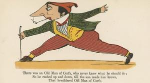 There Was an Old Man of Corfu, Who Never Knew What He Should Do by Edward Lear